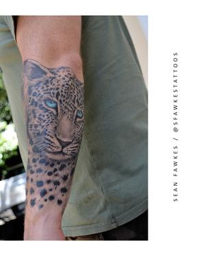 Feline Good . . . #beautiful #leopard #portrait by @sfawkestattoos . . . SAME DAY BOOKINGS AVAILABLE. . . . DM: @kakluckytattoos Call - 021/422/2963 Email - info@kakluckytattoos.com . . . #tattoo #tattoos #capetown #capetowntattoo #kaapstad #420 #forearmtattoo #blackandgreyrealism #stippling #tattoosofinstagram #tattoos #capetown #capetownliving #420 #kakluckytattoos #art #artistsoninstagram #capetown #inkmag #blackwork #tattoos #art #artists #kakluckytattoos #blackndgreyrealism #blackandgreytatto #leopardtattoo