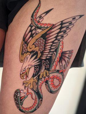 #eagle #snake