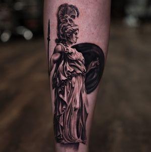 Athena by Nina Richards @devotedink
