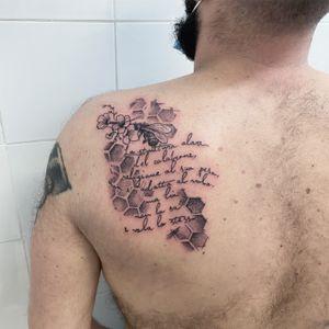 #bombotattoo #blackandgreytattoo #tattooroma #romatattoo