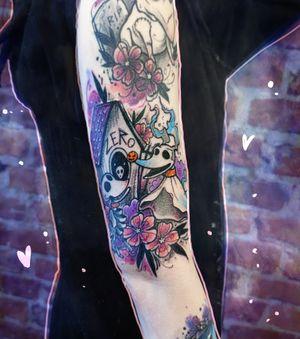 Tim Burton Dogs #timburton #tattoo #timburtontattoo #timburtonuniverse #thenightmarebeforechristmas