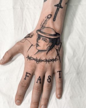 Tattoo by Black Drop Studio