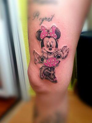 Tattoo#minniemouse#disney#colourtattoo#intenzeink