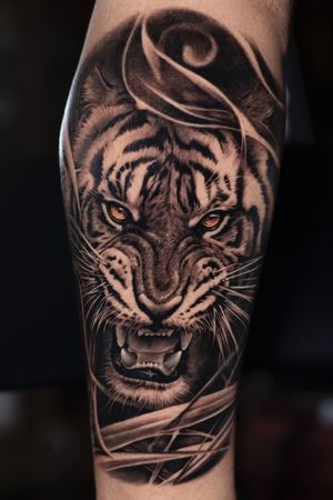 Tiger. Done in two sessions #tigerking #joseecd #josecontrerasart