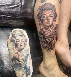 Gaisha Japanese tattoo