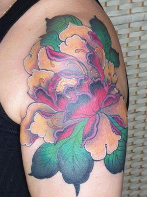Colourful Peoni!😊🌺