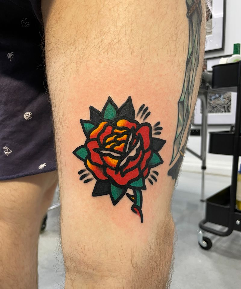 Tattoo from Tom Roder