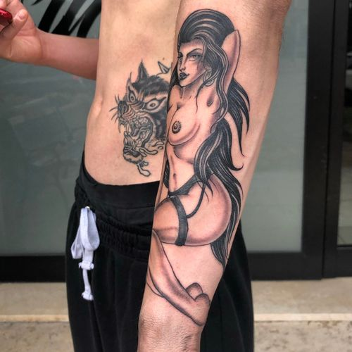 Lady done on my friend Marco!