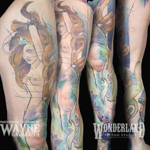 Tattoo from Wayne Galbraith