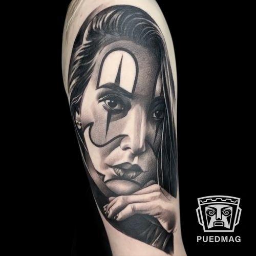 Chicano tattoo done by Steind Gonzalez