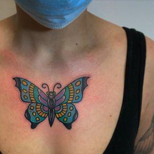 Tattoo from Brad Comfort