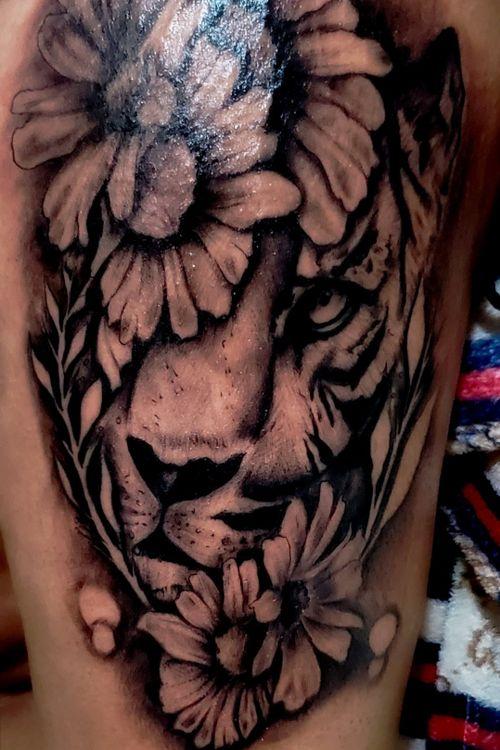 #tattootiger #tattoolife #tattooartwork #sm_tattoo13 #tattooink #viral #2021