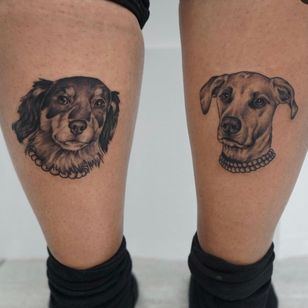 Tattoo by Miss Vampira aka Mary Minahan #MissVampira #MaryMinahan #dog #petportrait #animal