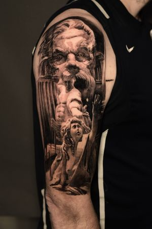 Done in 2 sesion .part of full sleeve Appointment: turuianumihaialexandru@gmail.com www.turuianumihai.com https://www.instagram.com/turuianu.mihai @cheyenne_tattooequipment @fkirons @worldfamousink @no.regrets.uk #legendaryink #xiontattoomachine #relistictattoo #bristoltattoo #photorelism #tattooartist #tattoosurrealism #skinart #skinartmag #inkaddict #inksav #realismtattooartist #art #ink #realismartist #realismotattoo #inked #photorealism #inked #painttattoo #inkaddicted #inklovers #bristol #portraittattoos