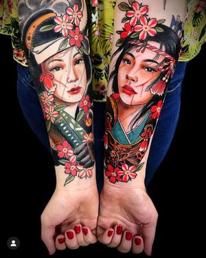 Tattoo by Jess Martucci at Seven Doors in London.