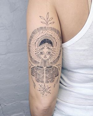 Nothingwild Paris 🌙 Goddess tattoo