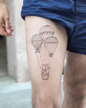 Nothingwild Paris 🌙 Balloon tattoos