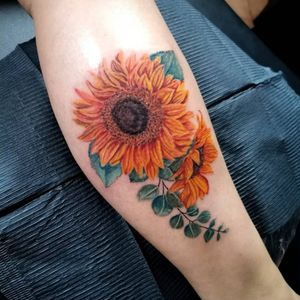 Sunflowers for one of my best clients.