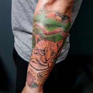 Ocelot for my friend Luis, loved the result.