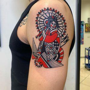 Tattoo from Albertinodabologna