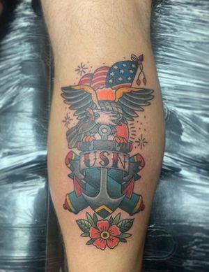 Traditional Navy tattoo