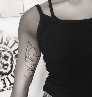 Tattoo from @bonnieink1