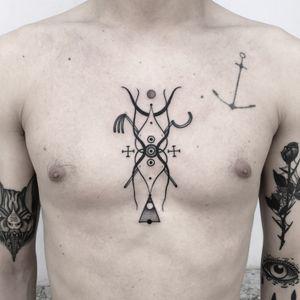 #totemica #buioOmega #tunguska #black #sun #ritual #luciferrising #egypt #tattoo #originalsintattooshop #nogara #italy #blackclaw #blacktattooart #tattoolifemagazine #tattoodo