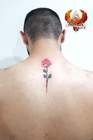 #rose #colortattoo #colourtattoo #rosetattoo #neck #tattoo #spine #spinetattoodesigns #colors #abstractart #necktattoos #shouldertattoo #menstattoo #girlstattoo #3dtattoo #realism #realistic #inkedgirls #inkart #artist #artoftheyear #tattoosociety #rosé #follow4followback #besttattoo #perfectlining #redcolor #greencolor #backtattoo #realismtattoo