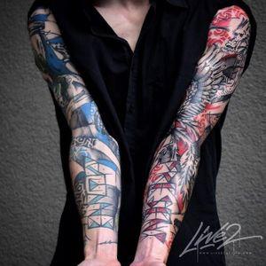 Done by resident artist Livetwotattoo at Theburningeyetattoo www.theburningeyetattoo.com For appointments info@theburningeyetattoo.com -Graphic Abstract Watercolour- #zurich #zurichtattoo #tattoozurich #zürichtattoo #züritattoo #tattoozürich #theburningeyetattoo #theburningeyetattoozurich #livetwotattoo #swiss #swisstattoo #graphictattoo #abstracttattoo #watercolortattoo