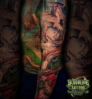 Tattoo by Bloodline Tattoo Phuket