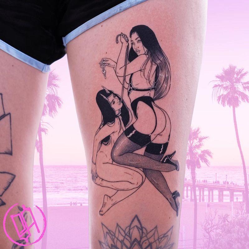 Tattoo from Sad Amish Tattooer