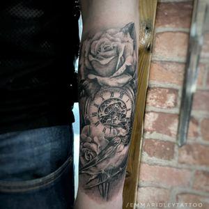 Cardiff City FC tribute tattoo