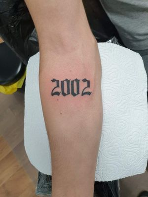 #2002 Got it today in Bedford, UK, black wolfs house of ink, in town centre, thank you Nathan.