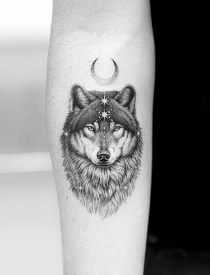 A mystical wolf…