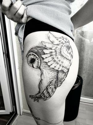 Tattoo#owl#birdtattoo#intenze ink#womentattoo