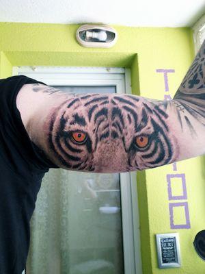 Tattoo#tiger#mentattoo#