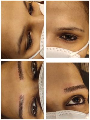 RAISE YOUR BROW GAME GIRLS 👯 BOOK YOUR APPOINTMENT NOW CALL / WHATSAPP 8851988598 🕓DURATION -1.30 HOUR ✍COMFORT - MEDIUM KEEPS UP - 1-2 YEARS ( DEPEND ON LIFESTYLE ) . . #skincare #lashes #skincareroutine #brows #antiaging #eyebrows #pmu #permanentmakeup #madhulika #madhulikaupadhyay #lashlifting #micropigmentation #browsonfleek #ombrebrows #powderbrows #microneedling #pmuartist #phibrows #browshaping #microshading #semipermanentmakeup #micro #pmubrows
