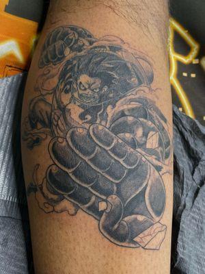 4th Gear Luffy piece