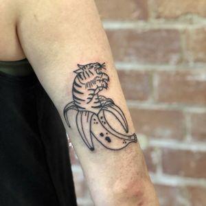 Banana tiger 🐅