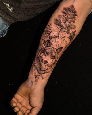 Tattoo wolf #tattoowolf