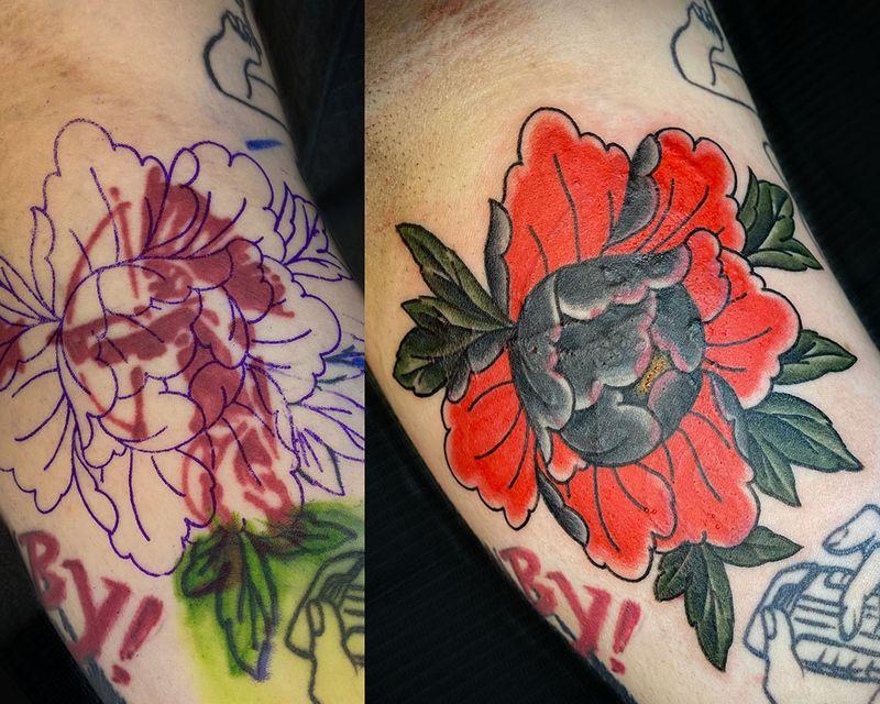 Tattoo from Sara Antoinette Martin