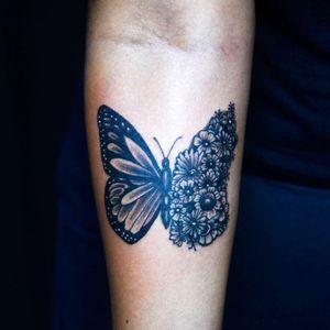 #butterfly #butterflytattoo #borboleta #borboletatattoo