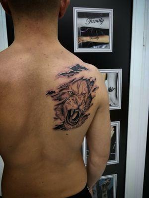 #tattooartist #tattoo #tato #tatu #liontattoo #art #artist