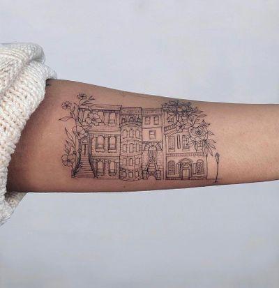 Brownstone tattoo 🌙 Nothingwild Tatouage Paris