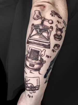 Tattoo by ONDO Tattoo