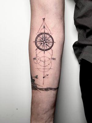 Love doing geometric fine line