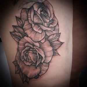 Stipple shaded roses