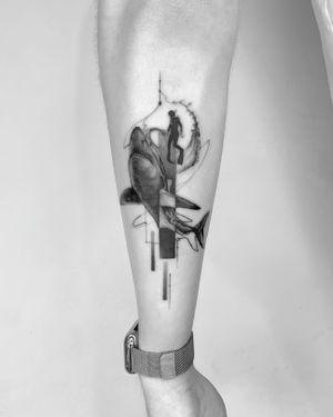 When water falls, it flies 🌊 @torocsikartroom . . . #tattoo #tattooed #inked #art #artist #tattooartist #budapest #bp #budapesttattoo #amsterdam #amsterdamtattoo #viennatattoo #hungary #hungarianartist #hungariantattooartist #shark #sharktattoo #minimal #minimaltattoo #fineline #finelinetattoo #microrealism #realistictattoo #dailytattoo #tattoodesign