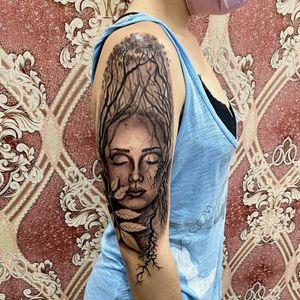 Tattoo by Amunet Tattoo Studio