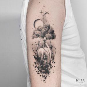 Tree Life Tattoo Dotwork